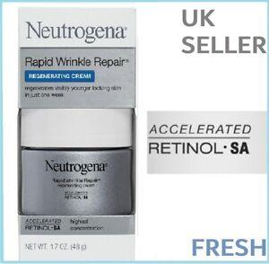 Neutrogena Rapid Wrinkle Repair REGENERATING Cream RETINOL Day MAX STRENGTH