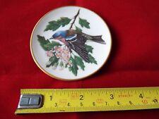 FRANKLIN PORCELAIN SONGBIRDS OF THE WORLD MINI PLATE. #11