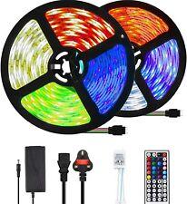 Led Strip Lights Full KIT 2835 5050 SMD 5 10 15 20 m  A++ UK Plug