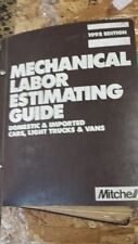Mitchell 1992 Mechanical Labor Estimating Guide Domestic & Imported