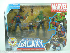 MARVEL UNIVERSE 3 pack GOTG Guardians of the Galaxy Starlord Rocket Drax Groot!