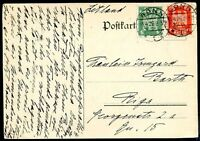 GERMANY TO LATVIA BONN Cancel on Card 1926