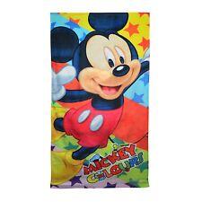Disney Mickey Mouse imprimé velours serviette de plage 75x150cm