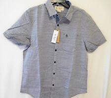 Original Penguin Men Stripe Short Sleeve Shirt Large L New Menwomenstyles
