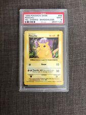 Pokemon Card - Base Set PSA 9 Shadowless Yellow Cheeks Pikachu MINT!