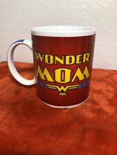 Wonder Mom Wonder Woman cup, gift mothers Coffee/Tea Mug EUC GL48