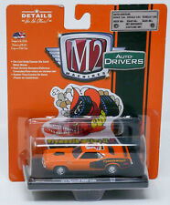 M2 1/64 1971 Plymouth Hemi Cuda  Diecast Car Orange Makes It
