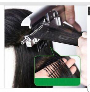 6D Extension Machine Salon Fusion Tool Connector Human Hair Extension Kit Set
