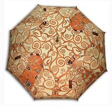 """Tree of life"" painting long size automatic umbrella"