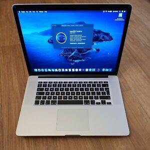 """Apple MacBook Pro 15"""" Mid-2012 A1398 Intel i7, 256Gb SSD, 8Gb RAM"""