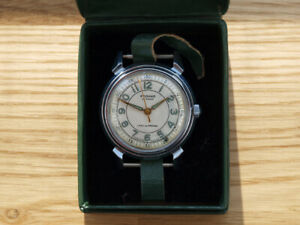 Vintage RODINA Automatic USSR old watch 22 Jewels 1MWF Kirova 1950's +Box