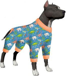 LovinPet Lightweight Pullover Large Puppy Pajamas/Large Dog Jamammies