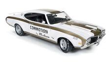 1969 Oldsmobile Cutlass du pot/OLDS 455 blanc or 1:18 auto world ERTL amm1034