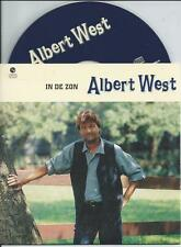 ALBERT WEST - In de zon CD SINGLE 2TR CARDSLEEVE 1996 HOLLAND RARE!