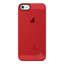 Genuine Belkin F8W162VFC03 Blue Shield Sheer Matte Case Cover iPhone 5 5s SE