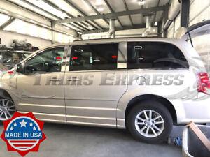 fit:2008-2020 Chrysler Town and Country/Dodge Grand Caravan 8Pc Pillar Post Trim