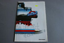 X222 LILIPUT Train catalogue Ho Hoe 1987 82 pages 29,7*21 cm F D Ang wagon