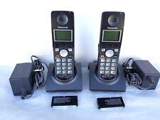 2 PANASONIC KX-TGA670B KX-TGA670B CORDLESS HANDSET FOR  KX-TG6700 KX-TG6702