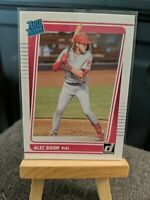2021 Donruss Base Rated Rookies #35 Alec Bohm - Philadelphia Phillies 📈
