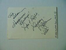 """Dukes of Hazzard"" Lindsay Bloom Hand Signed Postcard JG Autographs COA"