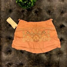 *NWT* $180 Da-Nang Women's Embroidered Coppe Skirt Size: SMALL