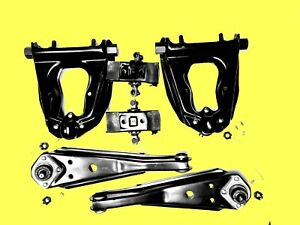 Upper & Lower Control Arm Kit 6Pcs 68 73 Ford Mustang 68 70 Ford Falcon D523