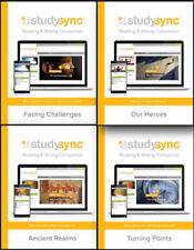 Study Sync by McGraw Hill Grade 6 Reading Writing Companion Set of 4 Workbooks