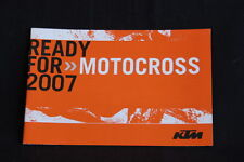 Booklett KTM Motocross Team 2007 (HW)