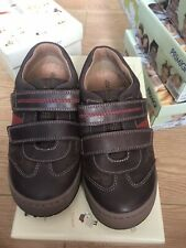 Startrite Flexy Tough Pri Brown Leather In  Size UK 12.5H Infant