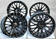 "18"" CRUIZE 170 MB ALLOY WHEELS MATT BLACK CROSS SPOKE 5X110 18 INCH ALLOYS"