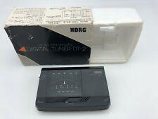 Korg Dt-2 Chromatic Digital Tuner Black