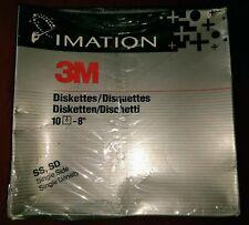 "3m eight 8"" Inch Floppy disks diskettes single sided single density Shrinkwrap"