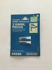 KREBS 09-007-029 2 SWIRL PIECES WITH BALL AND SPRING FOR MODELS 25T/35/35T/40T