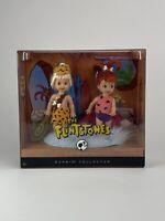 The Flintstones - Pebbles & Bamm Bamm Dolls, Silver Label Barbie Collector