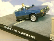 "EXCELLENT 1/43 JAMES BOND 007 RENAULT 11 TAXI ""HALF CAR"" FROM A VIEW TO A KILL"