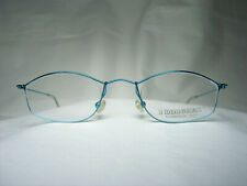 Borghesi eyeglasses Titanium oval square frames men's women's NOS vintage rare