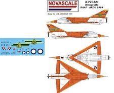 RAAF Mirage IIIo Mini-Set Decals 1/72 Scale N72053c