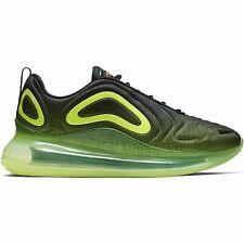 Nike Air Max 720 ретро-будущего, неоновая коллекция, черные, лимонные, малиновый AO2924-008