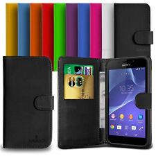 Custodia Case Flip Cover Pelle Portafogli Libro Per Sony Xperia M2 - M2 Aqua