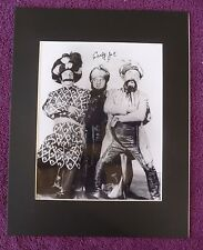 Curly Joe DeRita THE THREE STOOGES RARE SIGNED 8 X 10  AUTOGRAPHED WITH COA