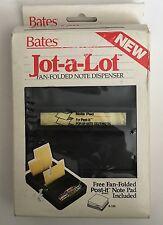 Bates Jot-lot Fan Folded Note Dispenser