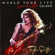 "TAYLOR SWIFT ""SPEAK NOW WORLD"" CD + DVD NEW+"