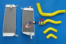 Aluminum radiator and hose for Honda CRF450X CRF 450 X 05 06 07 08 09 2005-2009