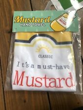 Giggle Beaver-it's A must Have Mustard - Hand/kitchen towel-brand New