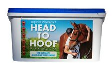 HEAD TO HOOF Equine Supplement with 40 mg Biotin for Hooves, Joints, & Health