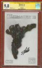 Ultimates 3 Black Panther 1 CGC SS 9.8 Stan Lee Joe Madureira Variant Avengers