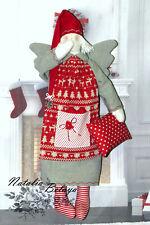 Cloth Tilda Christmas Angel Scandinavian Christmas Rag Doll Nordic Decoration