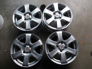 4 x Alufelgen 15 Zoll Lk. 4 x 100 Mazda, Kia, Honda, Mini, Arosa, Lupo