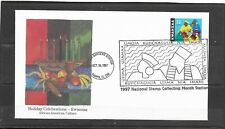 1997 US Edken Event Cover Holiday Celebrations-Kwanzaa Stamp Special Cancel