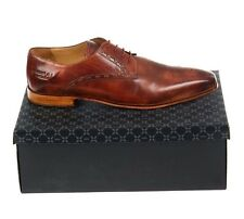 Melvin & Hamilton Mens Shoes Austin 9 Tan EU51 UK 15 Debry Leather Brown Brogues
